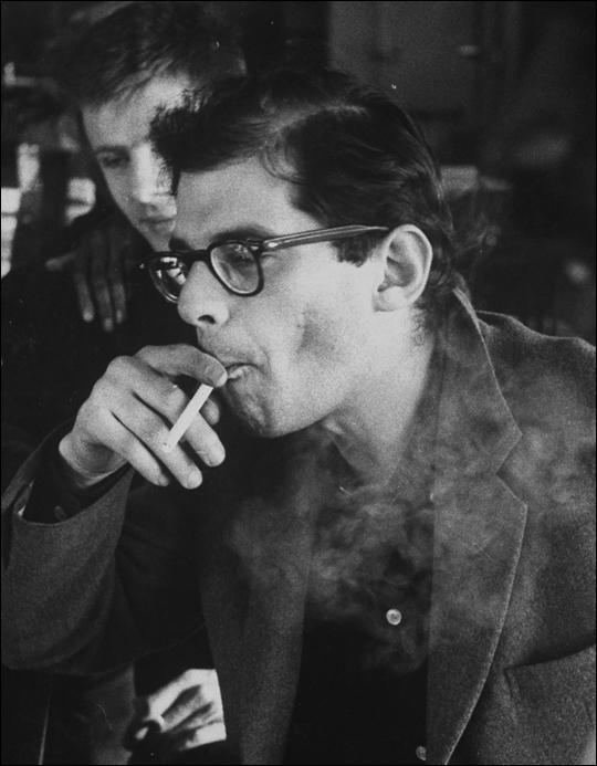 Young Allen Ginsberg image: Dlackey.org