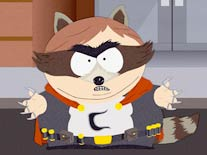 "Cartman is ""The Coon"""