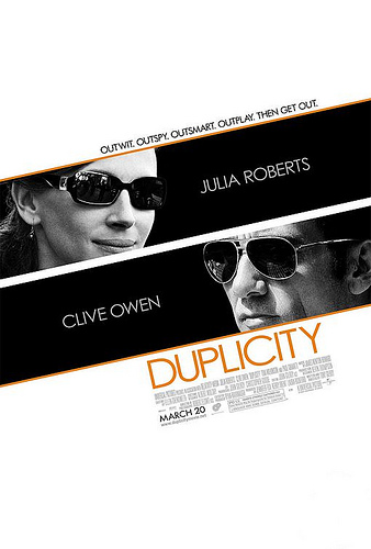 Duplicity featuring Clive Owen and Julia Roberts