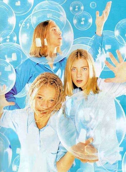 Hanson in bubbles