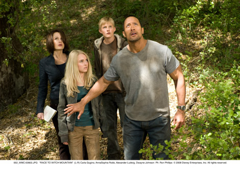 The Rock and friends