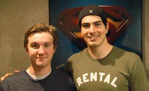 Sam and Brandon image: Supermanhomepage.com