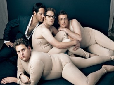 Jonah Hill, Paul Rudd, Jason Segel, and Seth Rogen